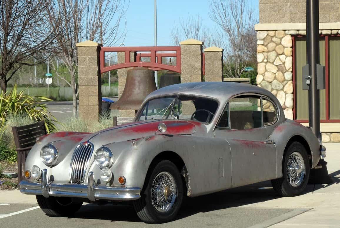 1955 Jaguar XK140   Dusty Cars