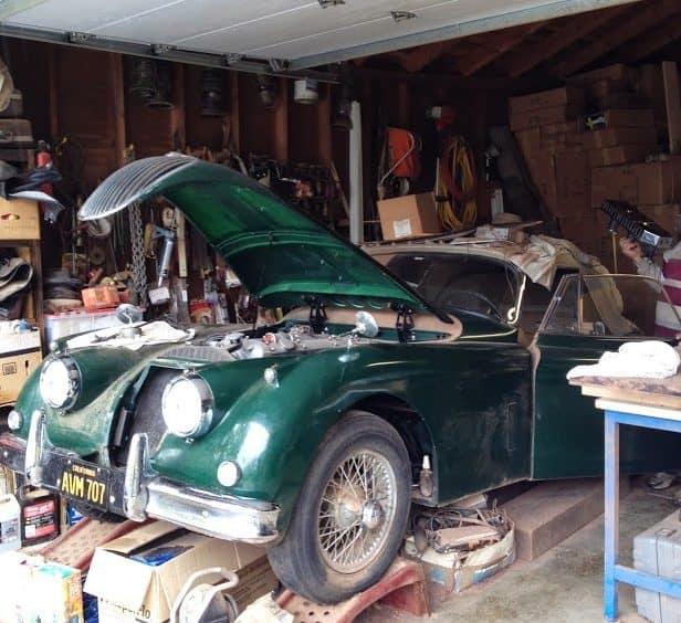 classic car for sale - 1959 Jaguar XK150 Drophead Coupe - $31k