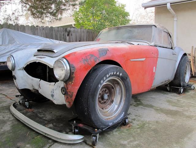 classic car for sale - 1960 Austin Healey 3000 - $5k