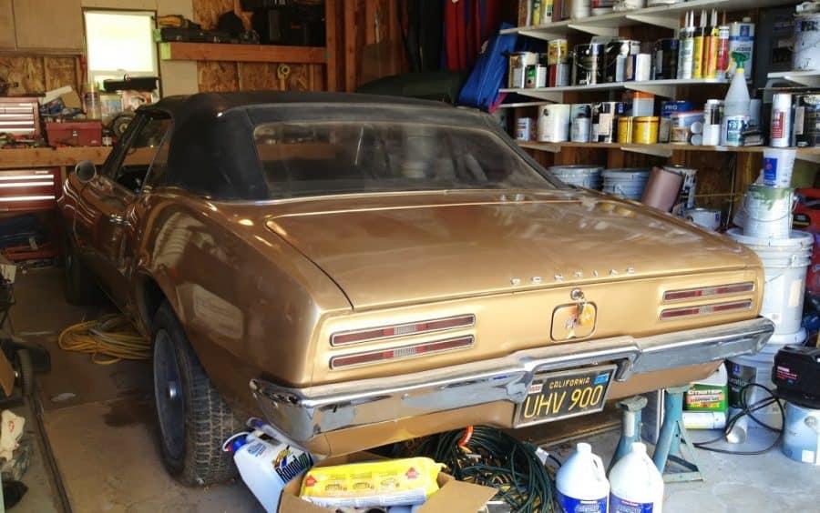 classic car for sale - 1967 Firebird Convertible - $9k