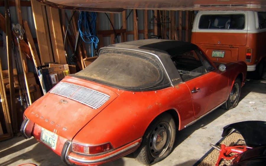 classic car for sale - 1967 Porsche 912 Soft-window Targa - $17k