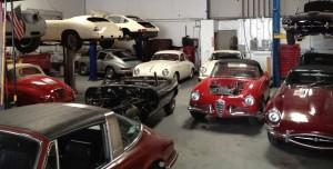 dusty cars workshop