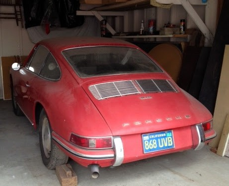 porsche 911 garage