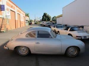 1955 Porsche 356 restoration - body
