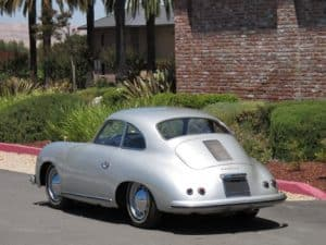1955 Porsche 356 restoration - finished article
