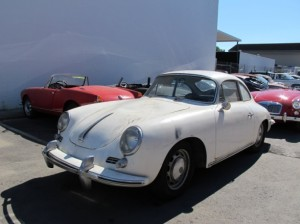 1955 Porsche 356 restoration - before 2