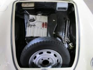 1965 Porsche 356c restoration - interior