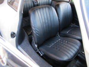 1965 Porsche 356c restoration - seats