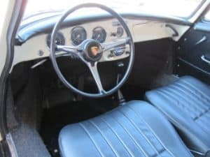 1965 Porsche 356c restoration - glove box
