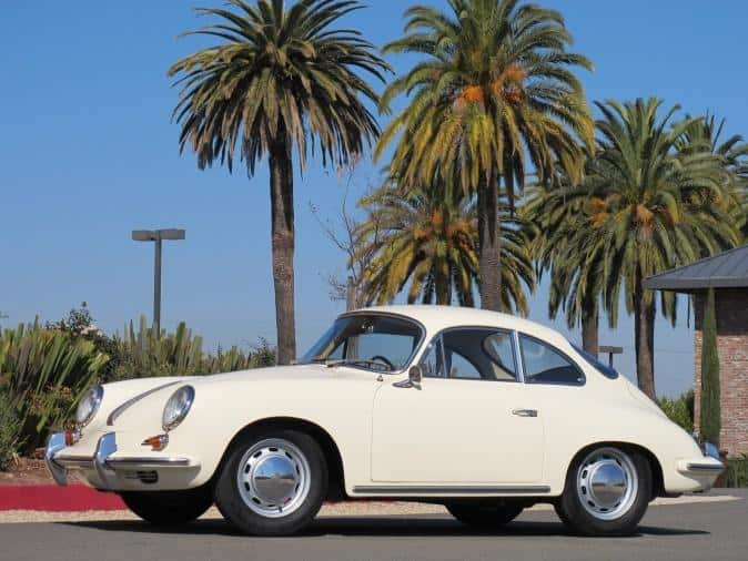 1965 Porsche 356c restoration - finished article