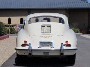 1961 porsche 356b super coupe