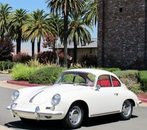 1964 porsche 356c white