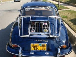porsche 356 super 90 sunroof coupe