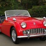 1959 Triumph TR3A For Sale Front
