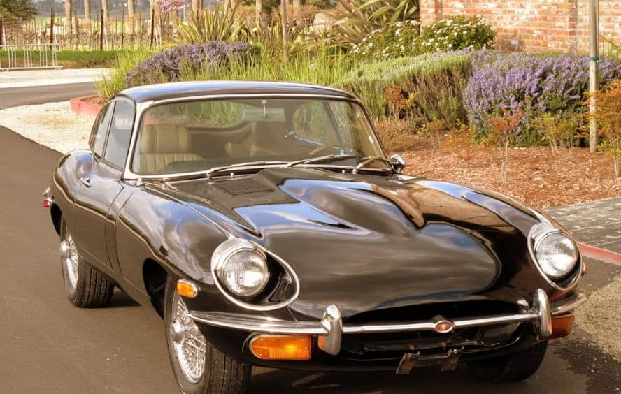 1969 Jaguar E Type Coupe For Sale Front