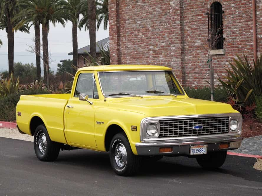 1971 Chevy C10 For Sale Dusty Cars