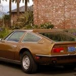 1972 Maserati Indy For Sale Back Left