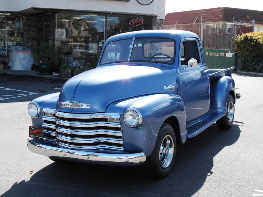 1950 chevrolet truck for sale dusty cars. Black Bedroom Furniture Sets. Home Design Ideas