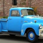 1955 Chevy Truck Blue For Sale
