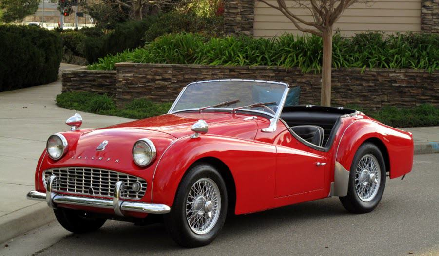 1959 Triumph TR3A For Sale Front Left