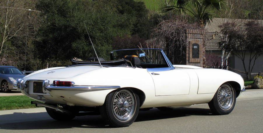 1962 Jaguar E-Type For Sale Side Right