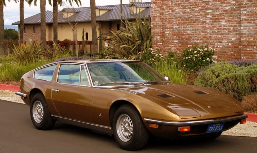 1972 Maserati Indy For Sale Front Right