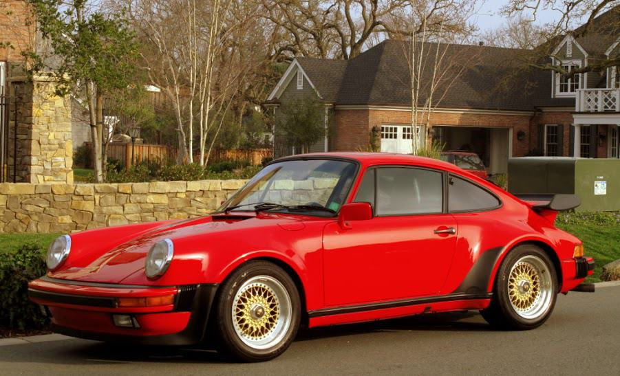 1986 porsche 911 turbo for sale contact dusty cars. Black Bedroom Furniture Sets. Home Design Ideas
