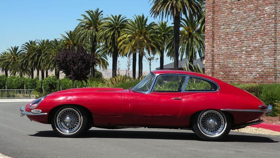 Side Left 2 1964 Jaguar XKE For Sale
