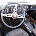 1962 Jaguar E-Type For Sale Steering Wheel