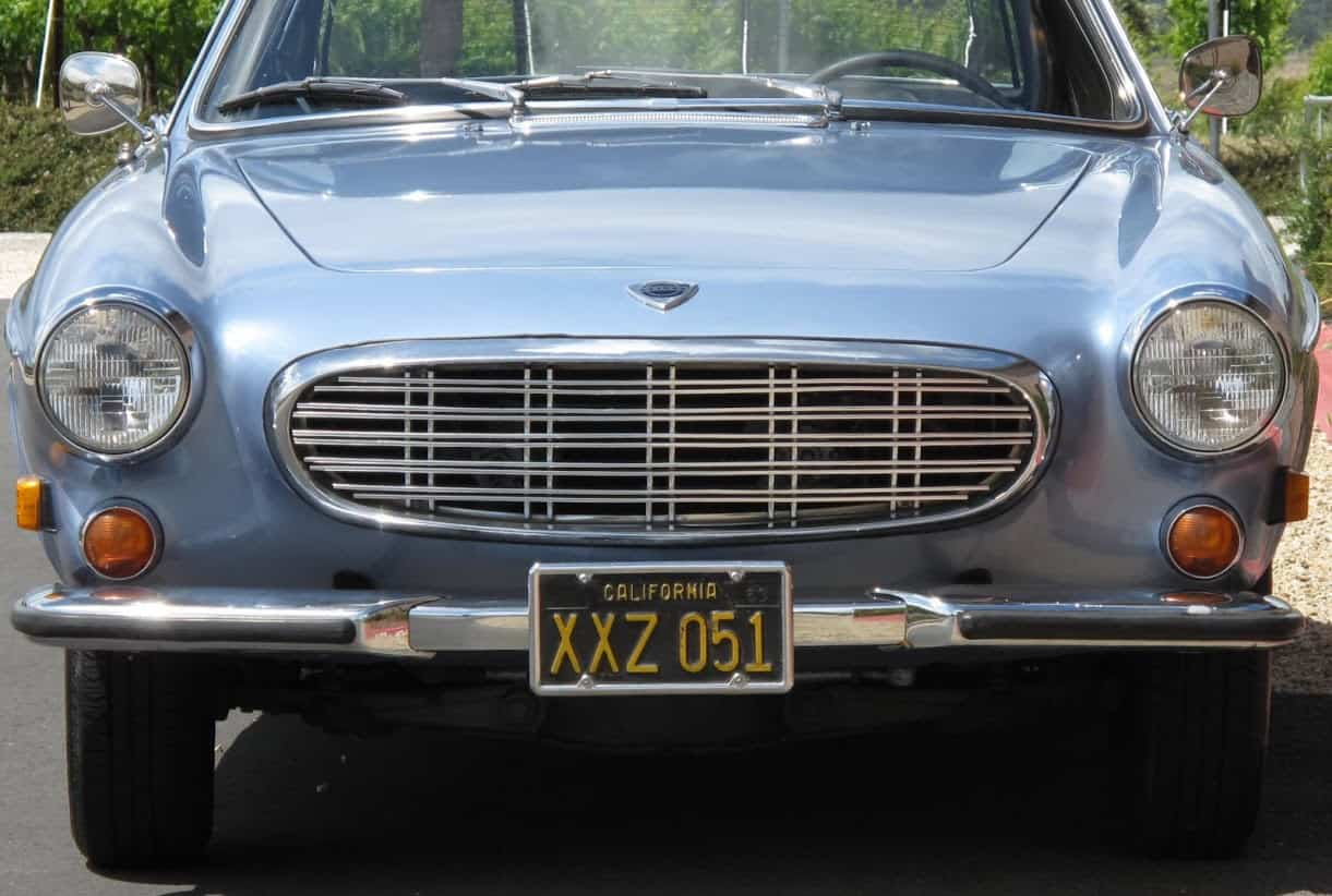 1957 Volvo p1800 For Sale Front