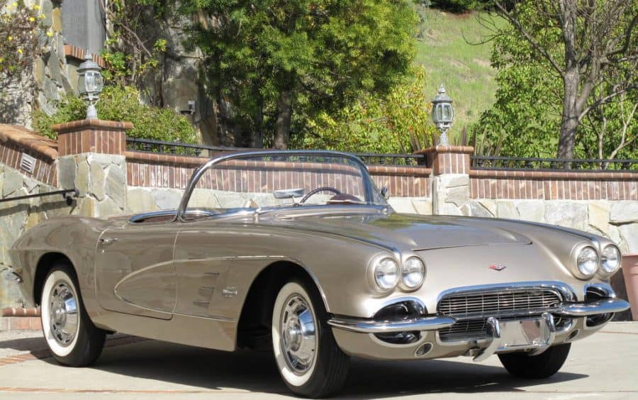 1961 Chevrolet Corvette For Sale Front Left