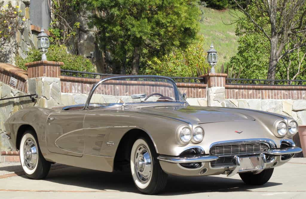 1961 Chevrolet Corvette For Sale Front Left