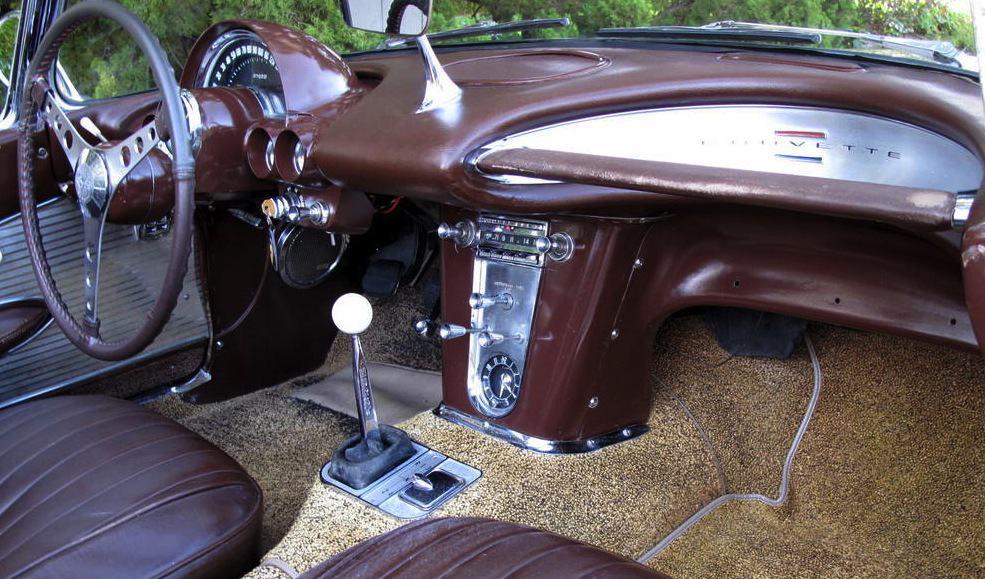 1961 Chevrolet Corvette For Sale Interior