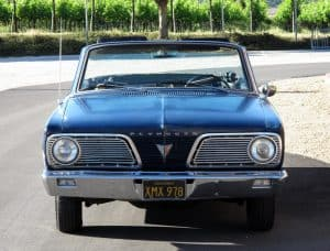 1966 Valiant Convertible For Sale Front On