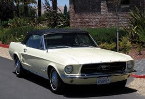 1967 Mustang Convertible For Sale