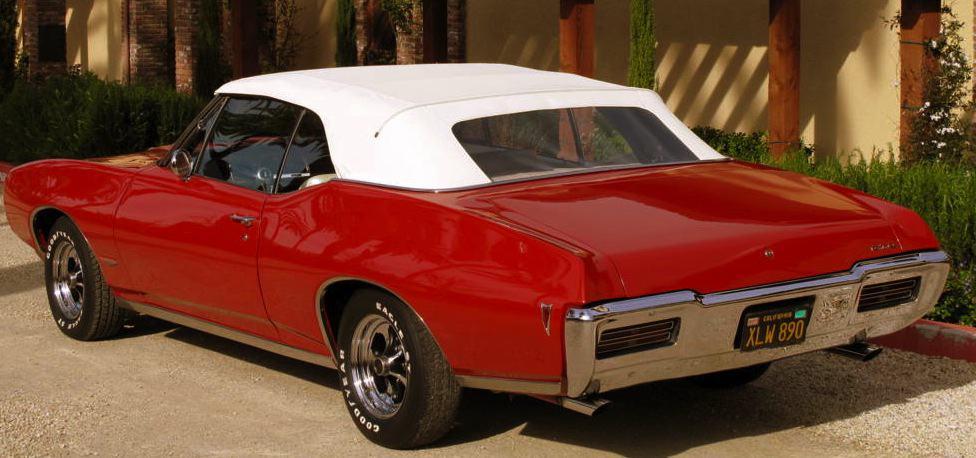 1968 Pontiac GTO For Sale Back Left