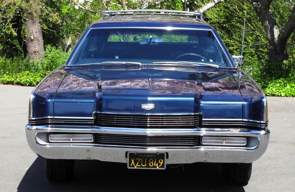 1969 Ford Mercury Marquis Colony Park Wagon For Sale Front