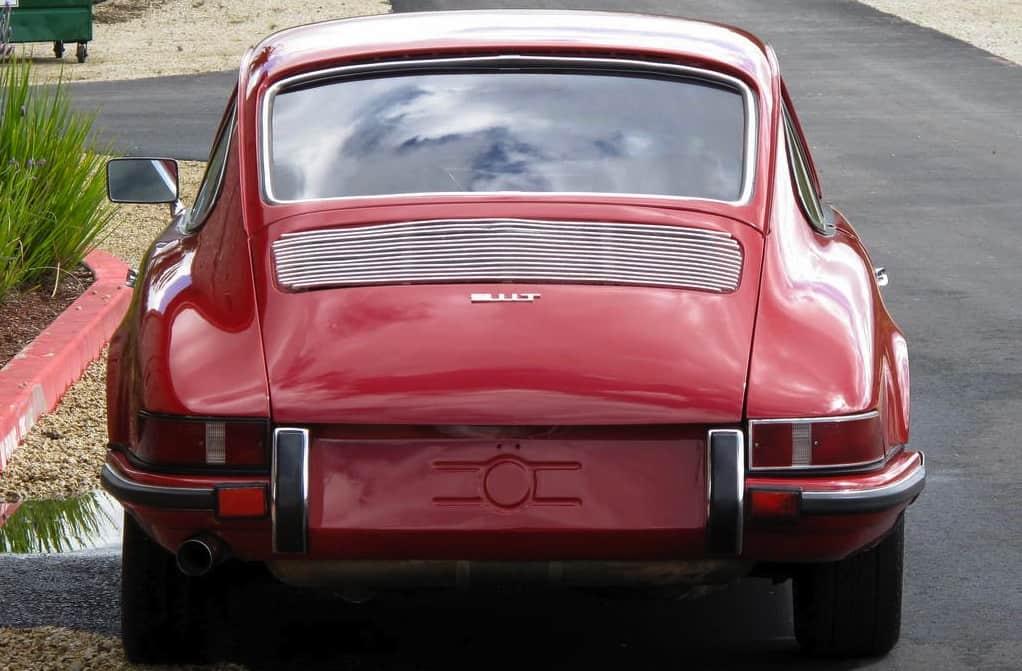 1969 Porsche 911T For Sale Back