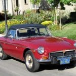 Red 1974 MG MGB For Sale Front Right