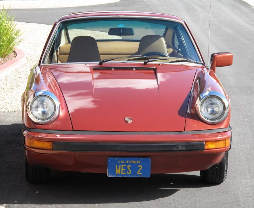 Red 1976 Porsche 912e For Sale Front