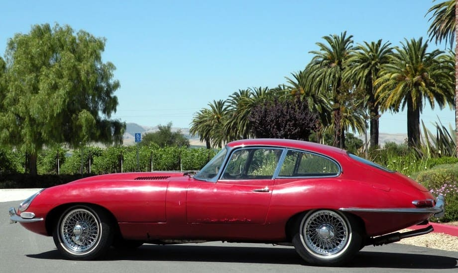 1963 jaguar xke for sale contact dusty cars. Black Bedroom Furniture Sets. Home Design Ideas