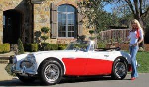 1966 Austin Healey BJ8