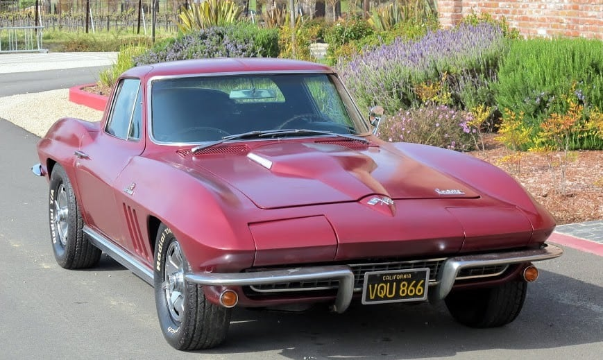 1966 corvette fastback for sale contact dusty cars. Black Bedroom Furniture Sets. Home Design Ideas