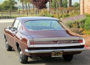 1968 Barracuda Fastback