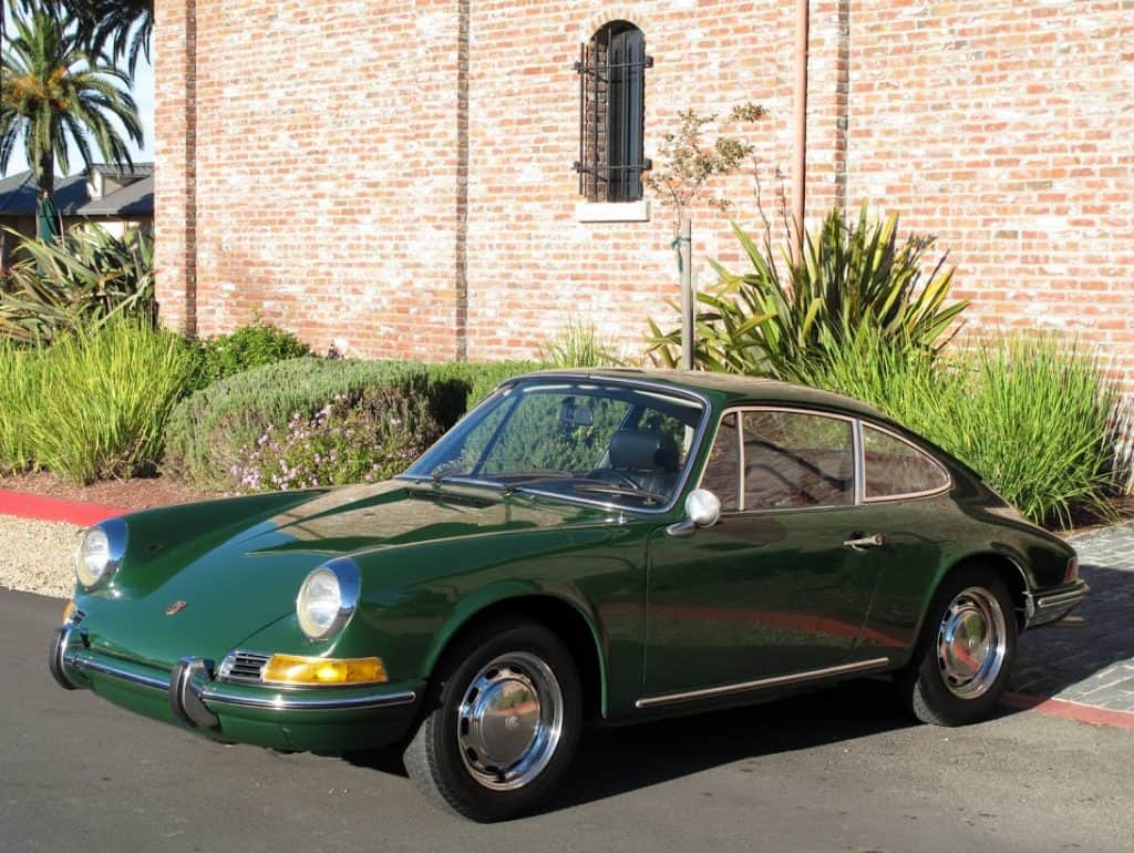 1969 porsche 912 green dusty cars 1 classics buyer. Black Bedroom Furniture Sets. Home Design Ideas