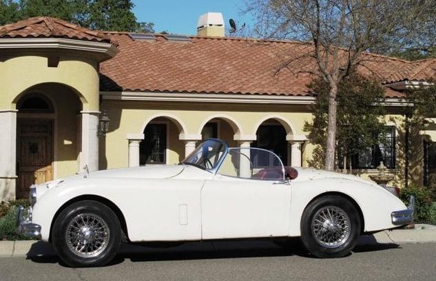 1958 Jaguar Xk150s For Sale Left