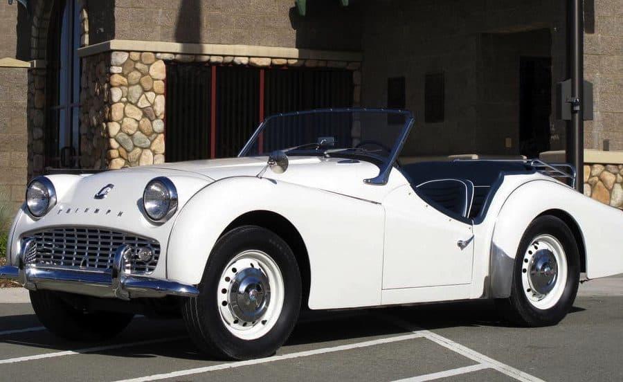 1960 Triumph TR3 For Sale Front Left