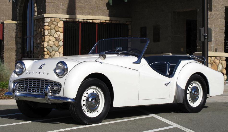 1960 Triumph TR3 For Sale Front Left