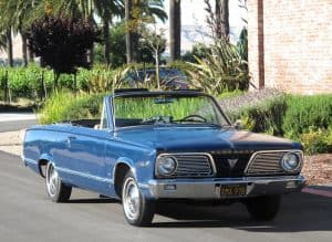 1966 Valiant Convertible For Sale