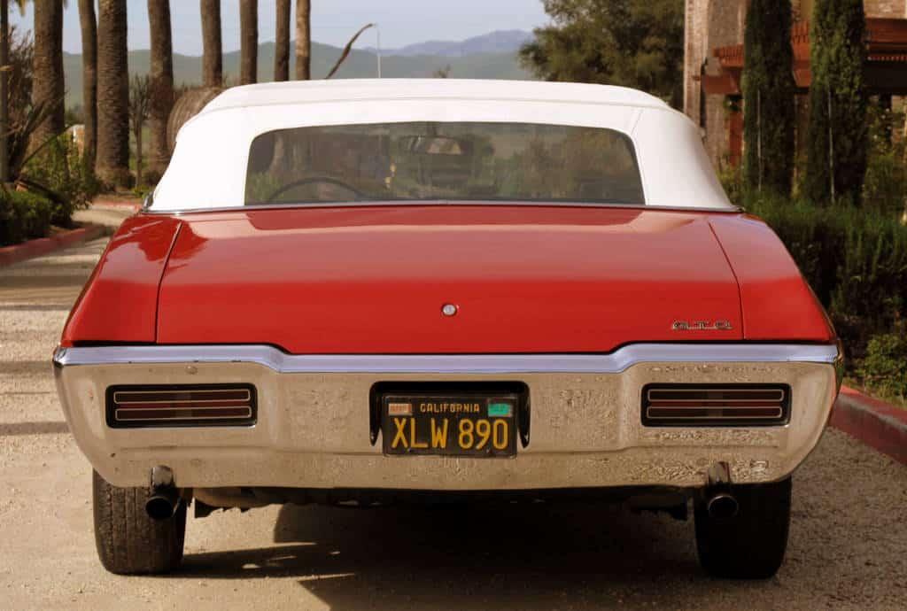 1968 Pontiac GTO For Sale Back